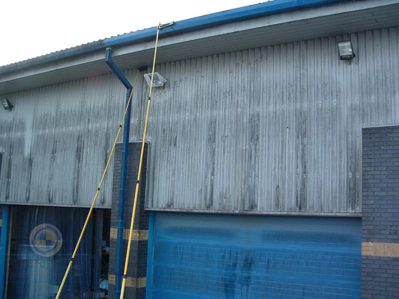 измиване на фасади и халета